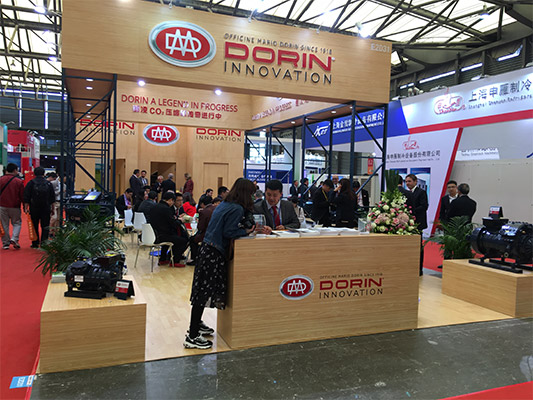 CHINA REFRIGERATION 2017, DORIN SHOWS THE LATEST NEWS IN TRANSCRITICAL CO2!!