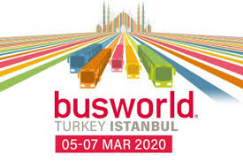 BUSWORLD Turkey- Hall 9 Booth D25-