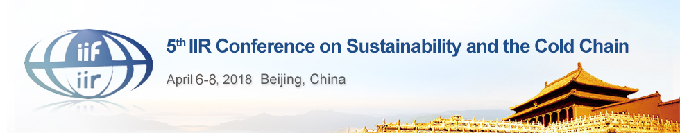 5th IIR Conference on Sustainability and the Cold Chain - Beijing (CN)