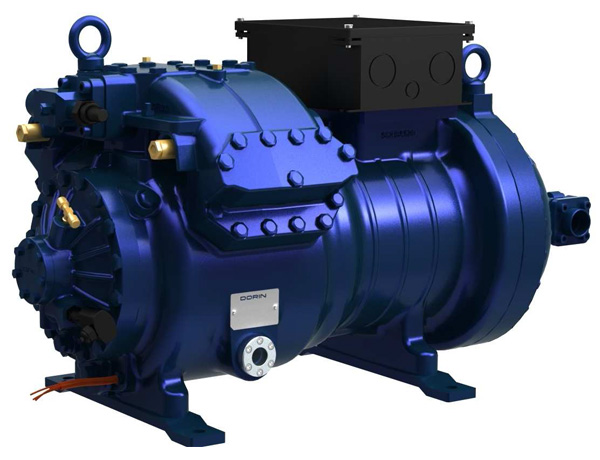 Dorin: Largest 6 Piston CO2 Transcritical Compressor